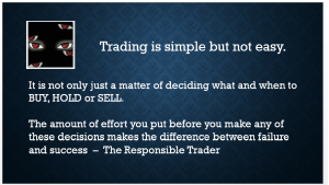 Trading is Simple But Not Easy