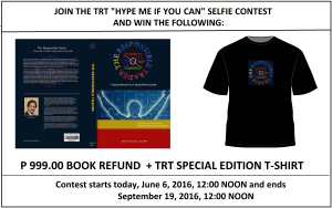 TRT HYPE ME IF YOU CAN SELFIE CONTEST