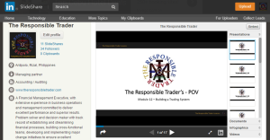 The Respponsible Trader_Slideshare